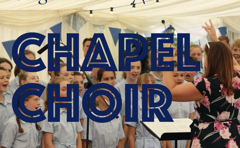 "Chapel Choir: ""Love Divine"" (excerpts) By Howard Goodall"